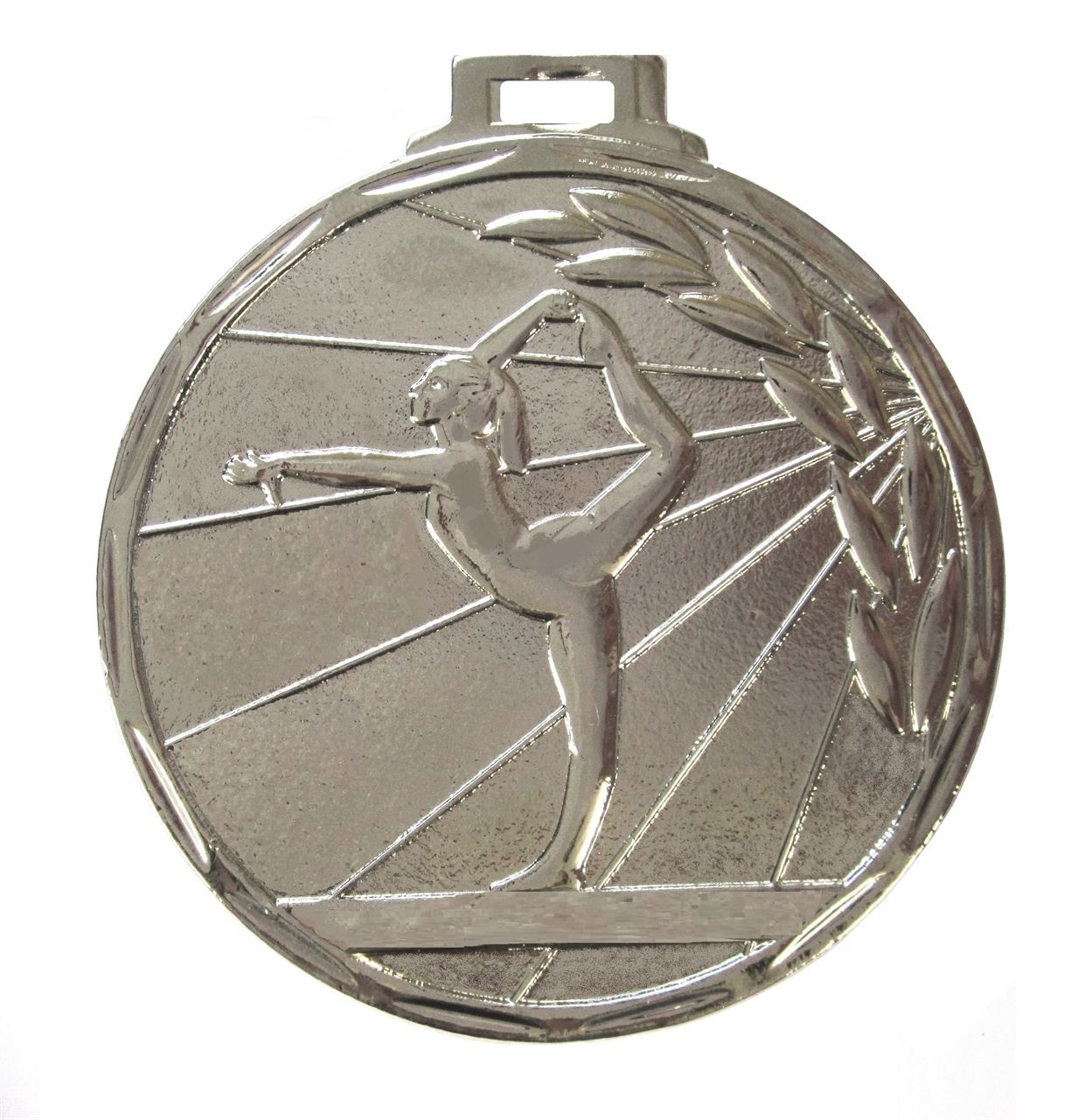Silver Value Gymnastics Ray Medal (size: 50mm) - 7901