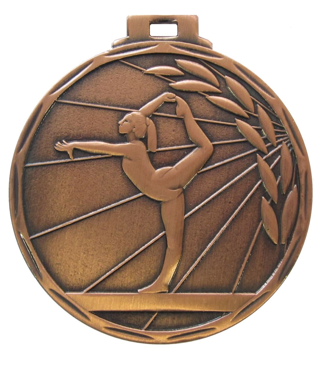 Copper Value Gymnastics Ray Medal (size: 50mm) - 7901