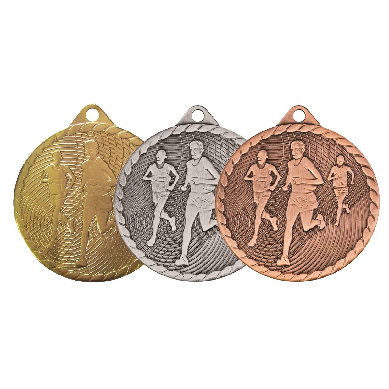 Isoline Economy Running Medal (size: 50mm) - 63852