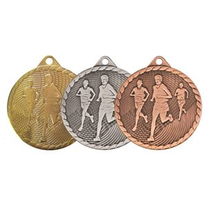 Isoline Economy Running Medal (size: 50mm) - 63852