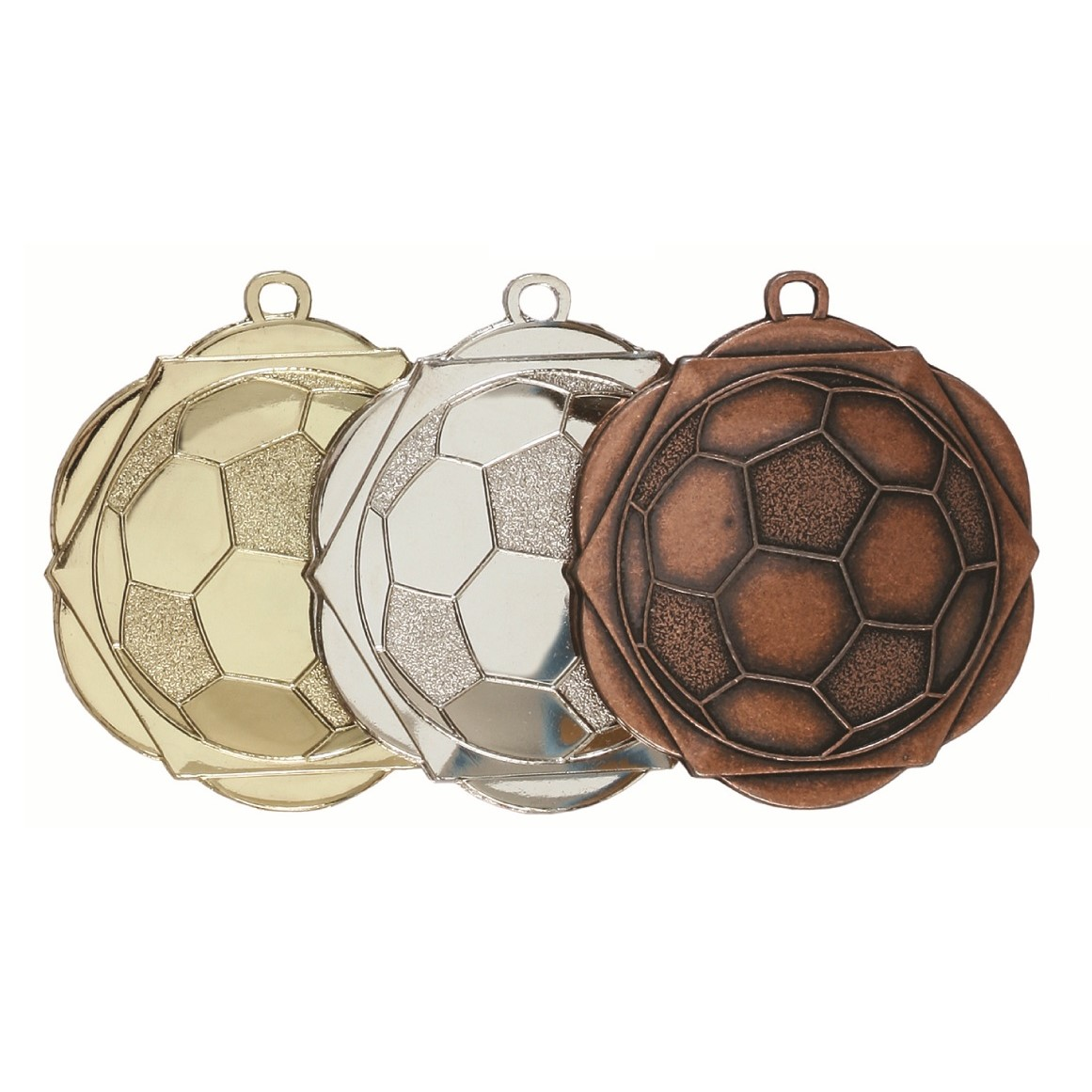 English Rose Football Medal (size: 50mm) - D5