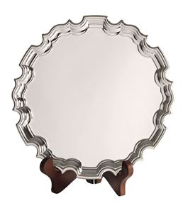 Silver Plated Chippendale Tray - CN1503