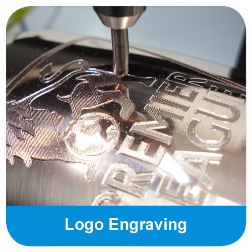 High quality logo engraving