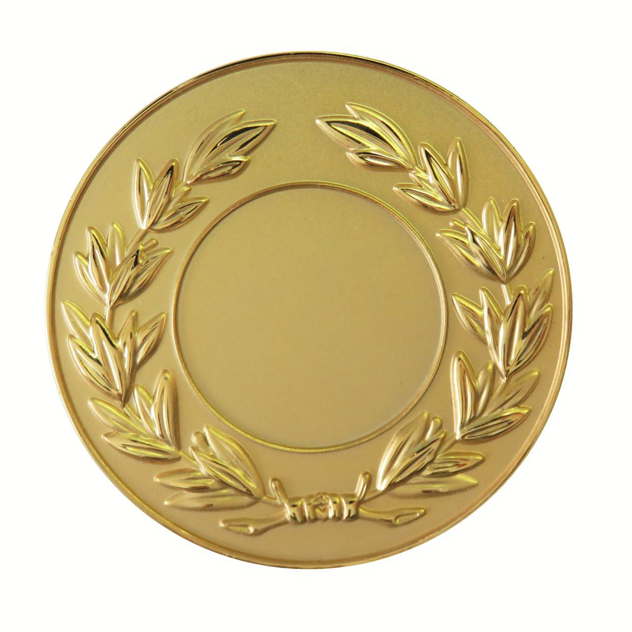 Gold Frosted Laurel Medal (size: 50mm) - LAUF