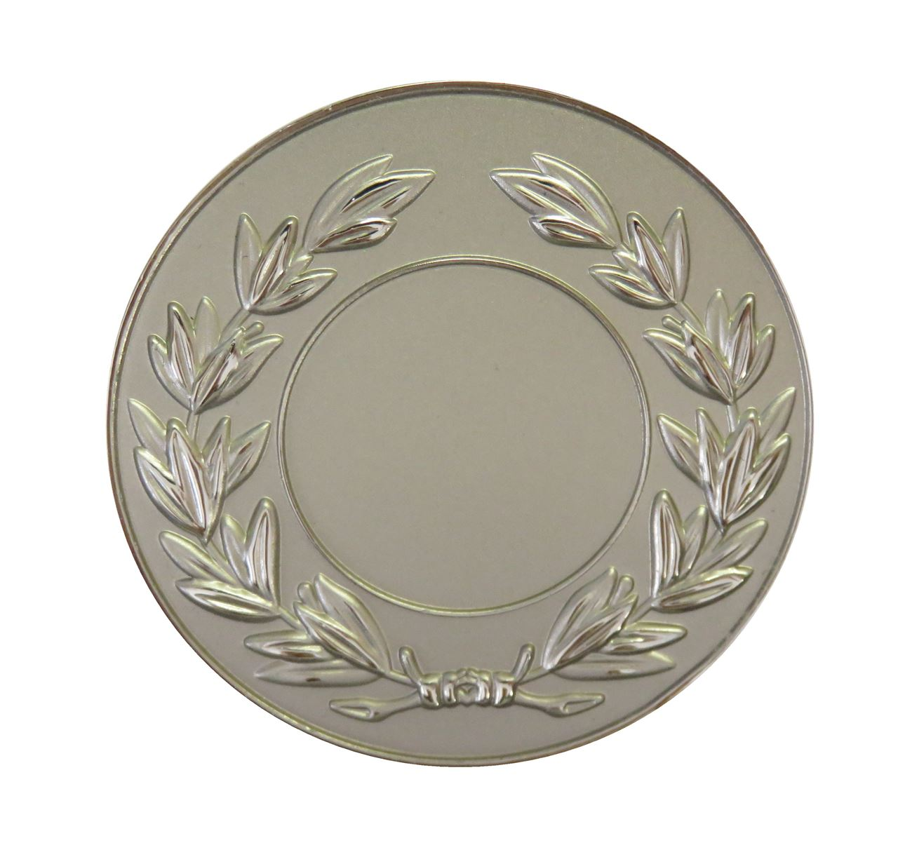 Silver Frosted Laurel Medal (size: 50mm) - LAUF