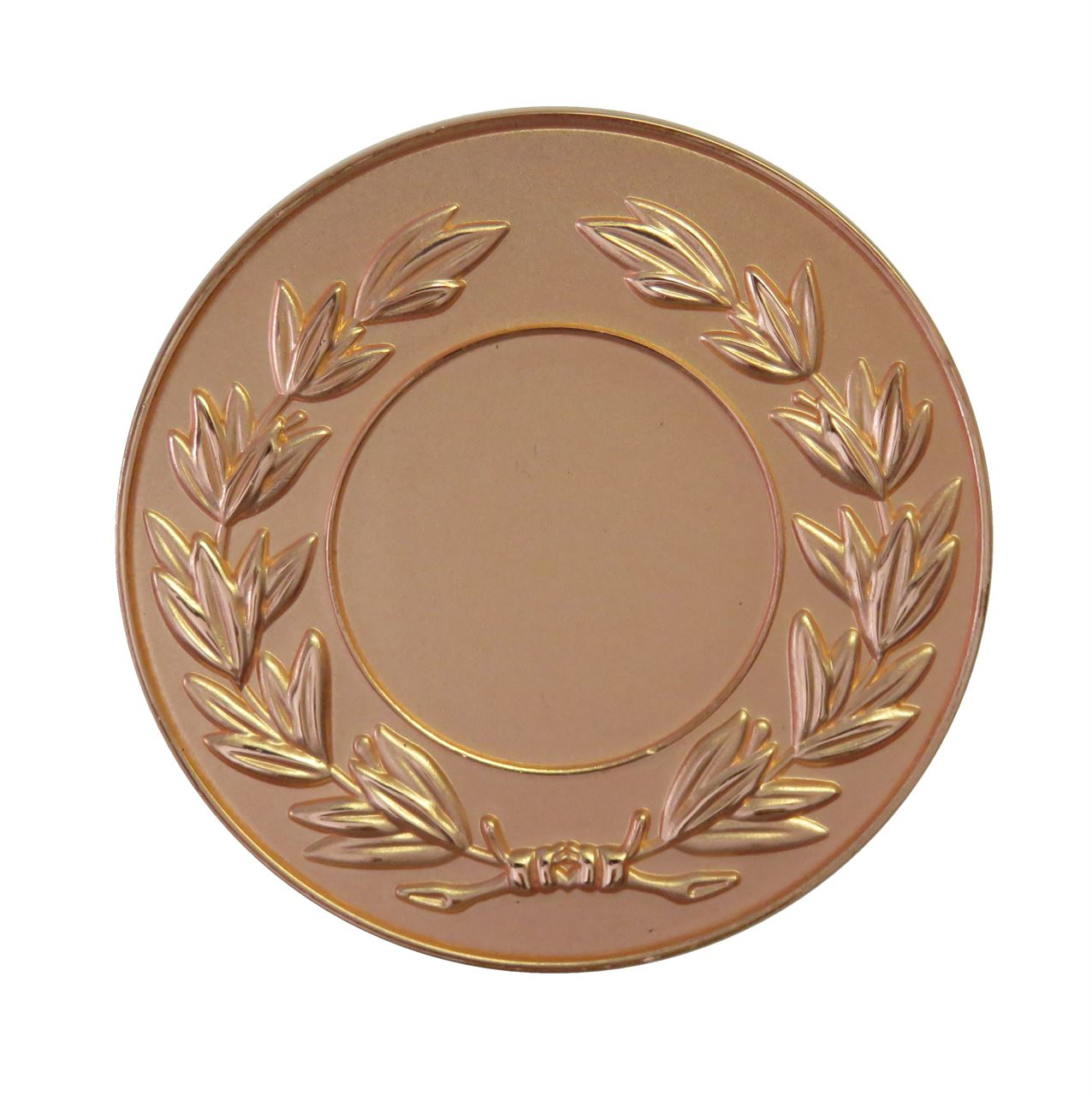 Copper Frosted Laurel Medal (size: 50mm) - LAUF
