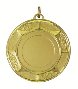 Gold Faceted Sunburst Medal (sizes: 42mm and 50mm) - 5700F
