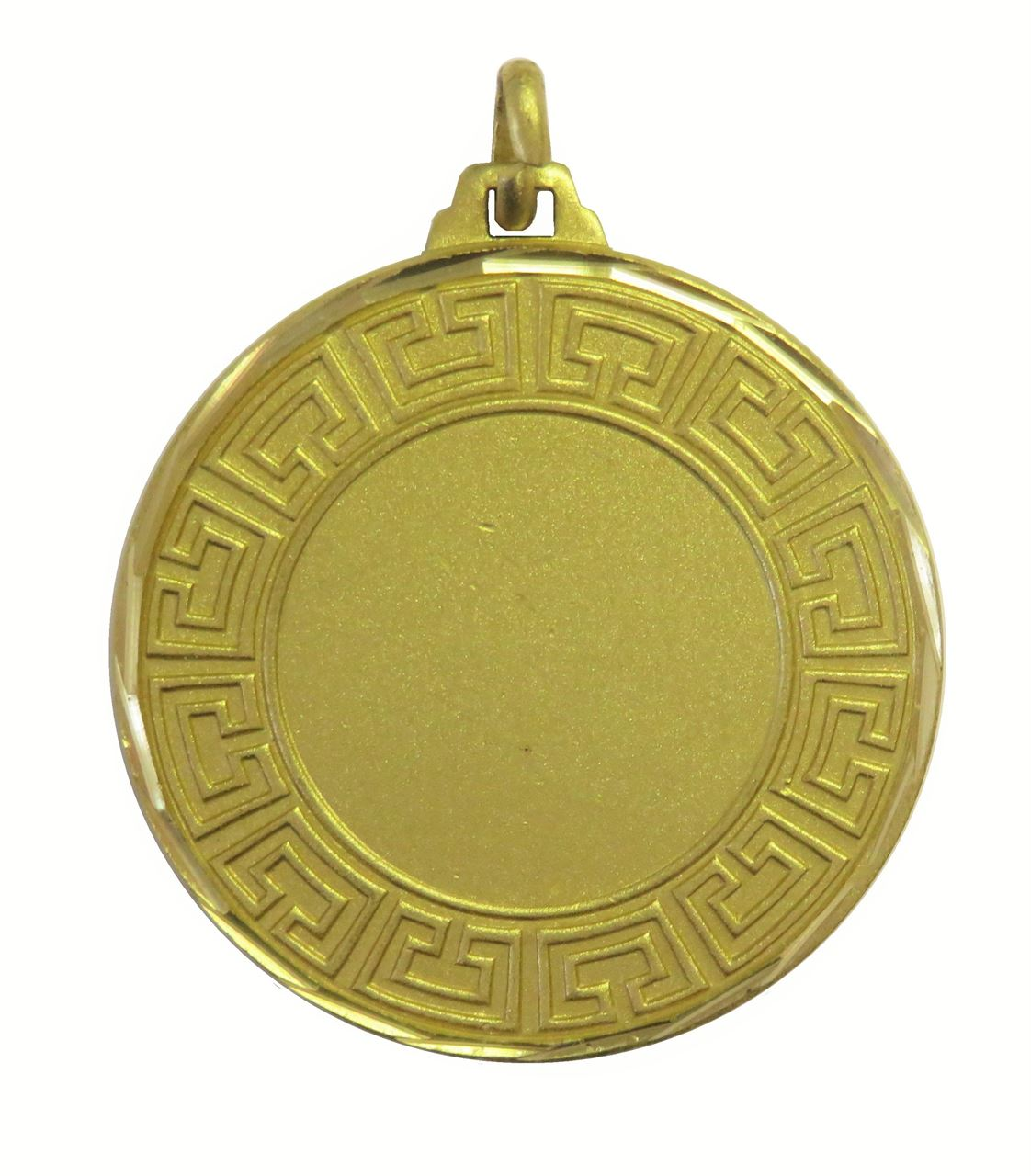 Gold Faceted Athena Medal (sizes: 42mm) - 5555F