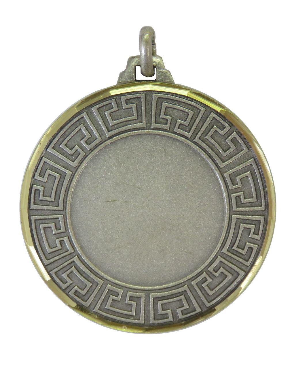 Silver Faceted Athena Medal (sizes: 42mm) - 5555F
