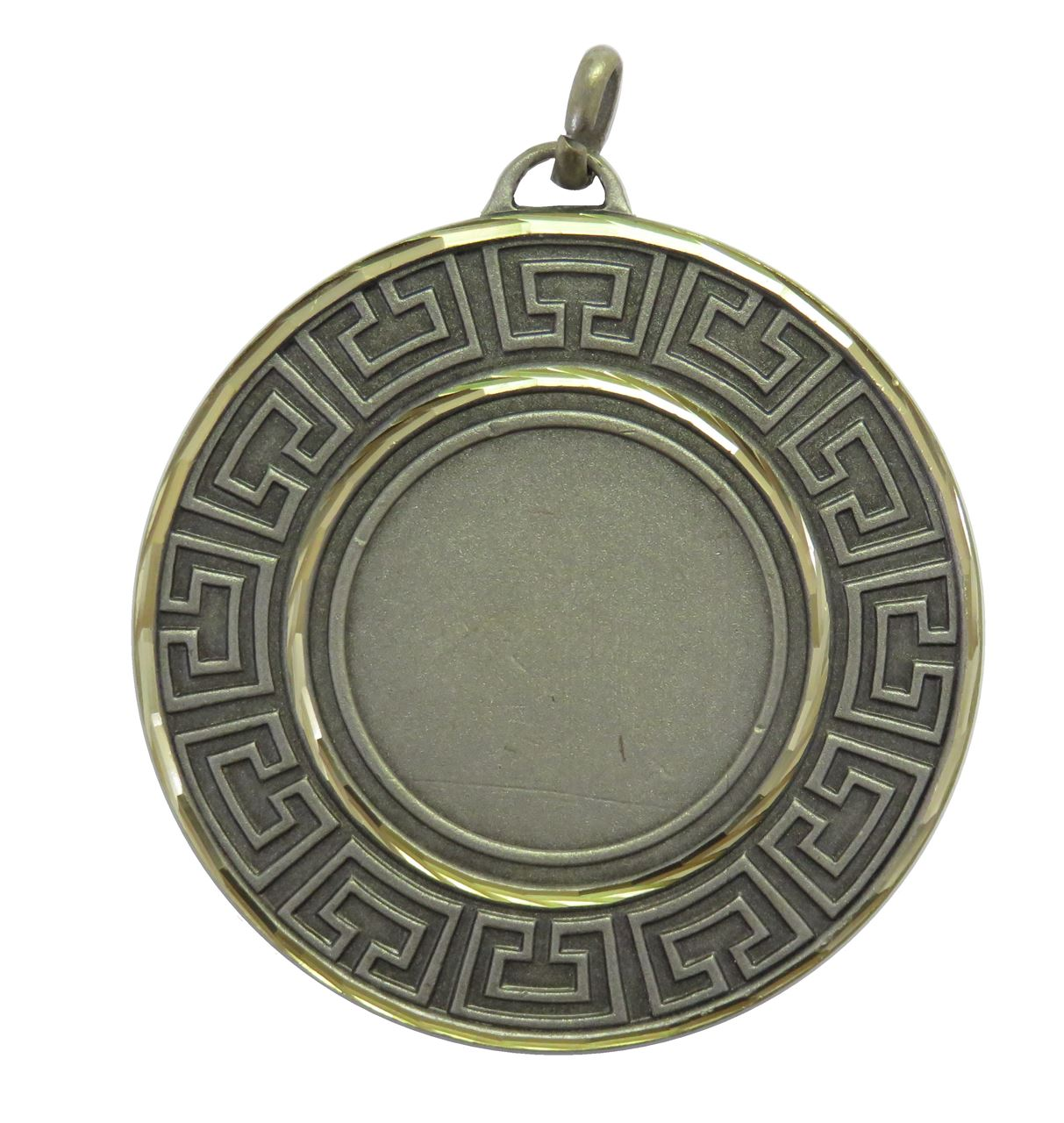 Silver Faceted Athena Medal (sizes: 50mm) - 5555F