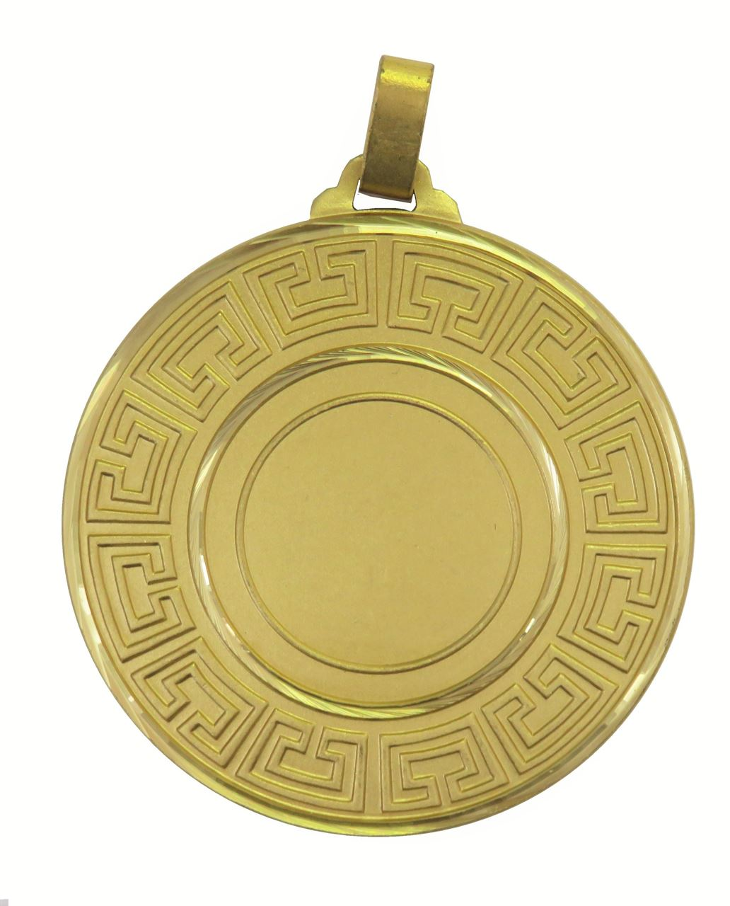 Gold Faceted Athena Medal (sizes: 60mm) - 5555F
