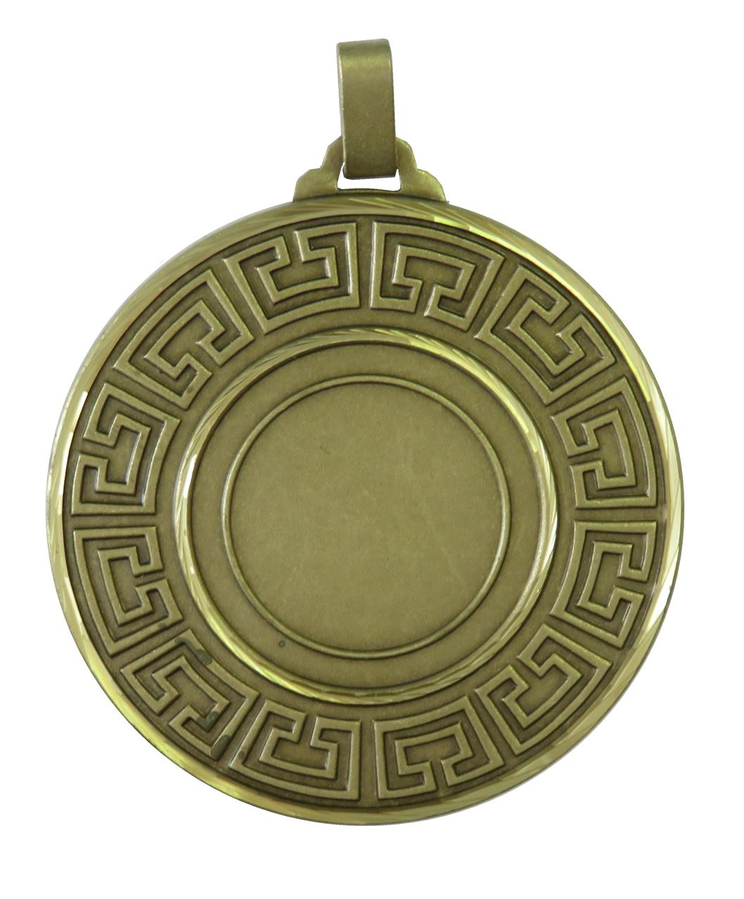 Bronze Faceted Athena Medal (sizes: 60mm) - 5555F