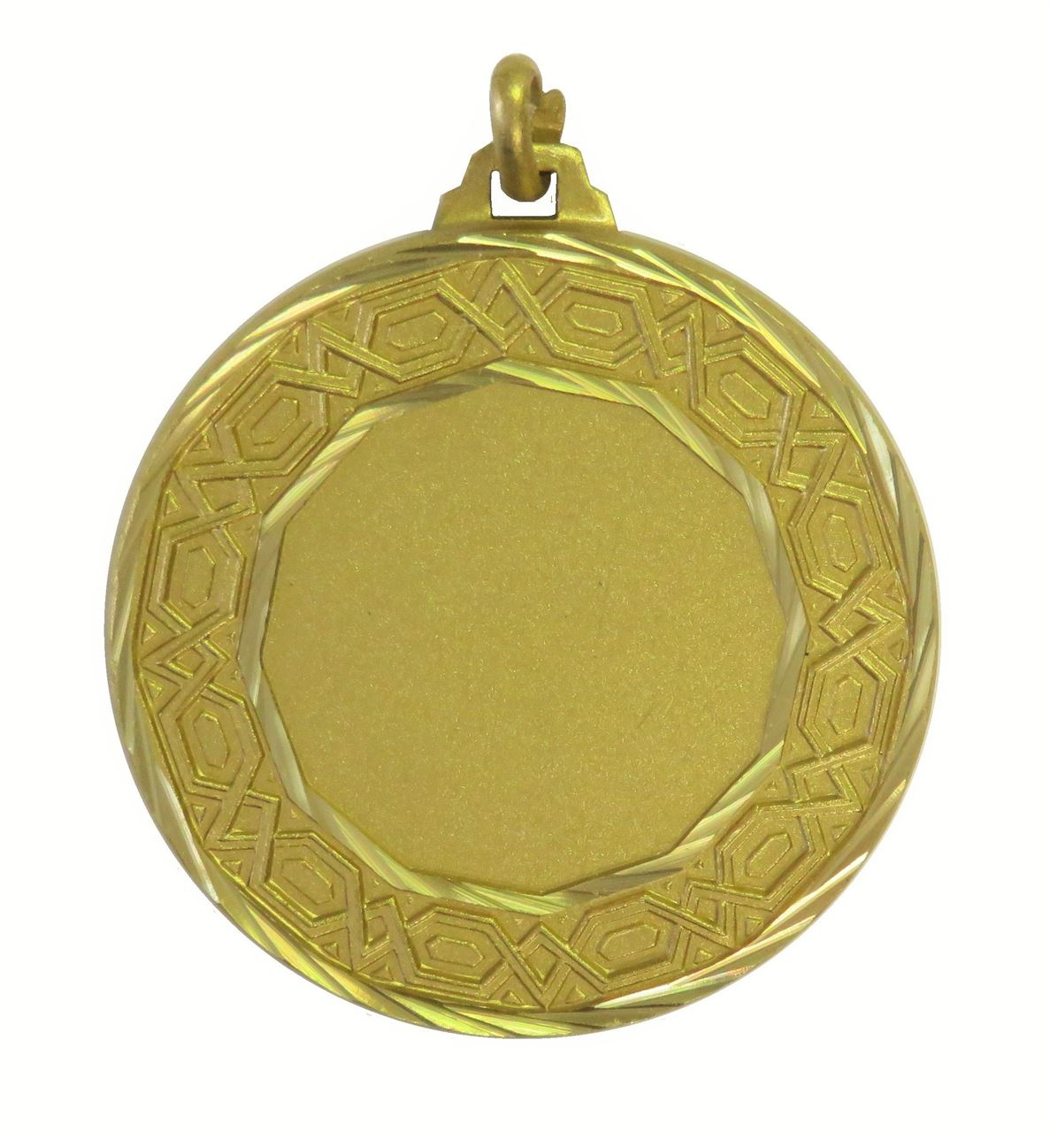 Gold Faceted Nile Medal (size: 42mm) - 5530F