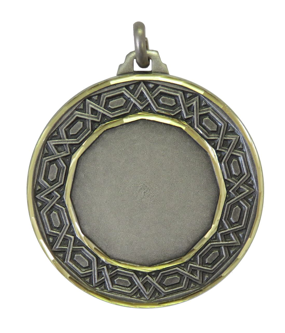 Silver Faceted Nile Medal (size: 42mm) - 5530F