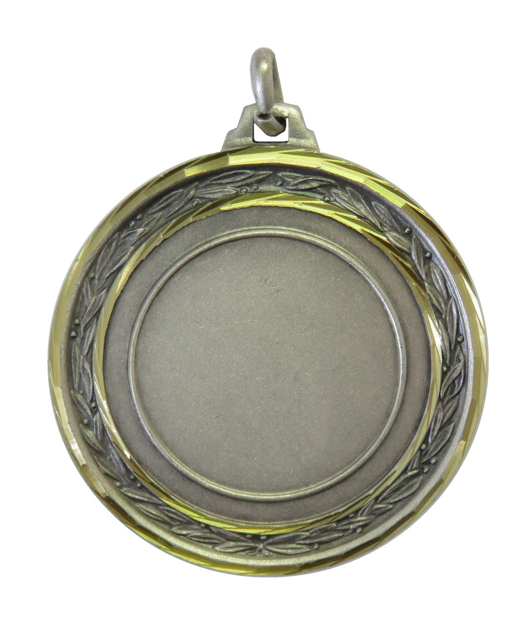 Silver Faceted Laurel Medal - 5500F