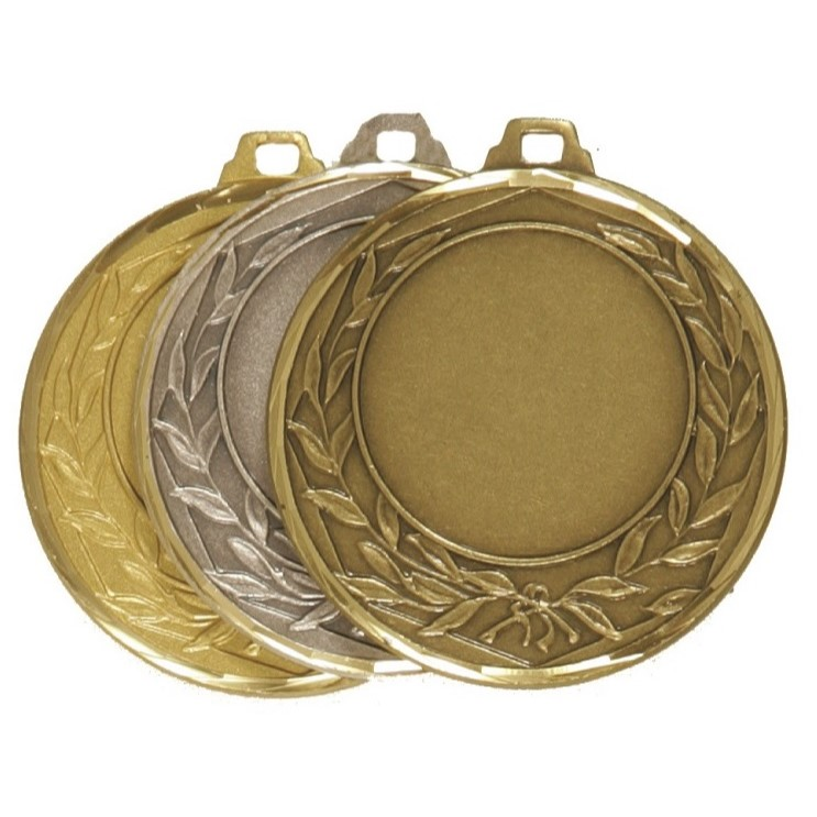 Faceted Wreath Medal - 5405F