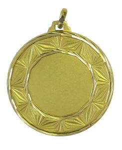 Gold Faceted Diamond Medal - 5520F
