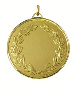 Gold Faceted Caesar Medal (size: 50mm and 60mm)- 5575F