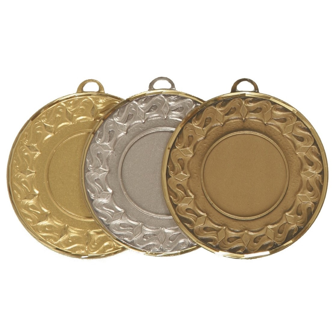Faceted Waves Medal - 5615F