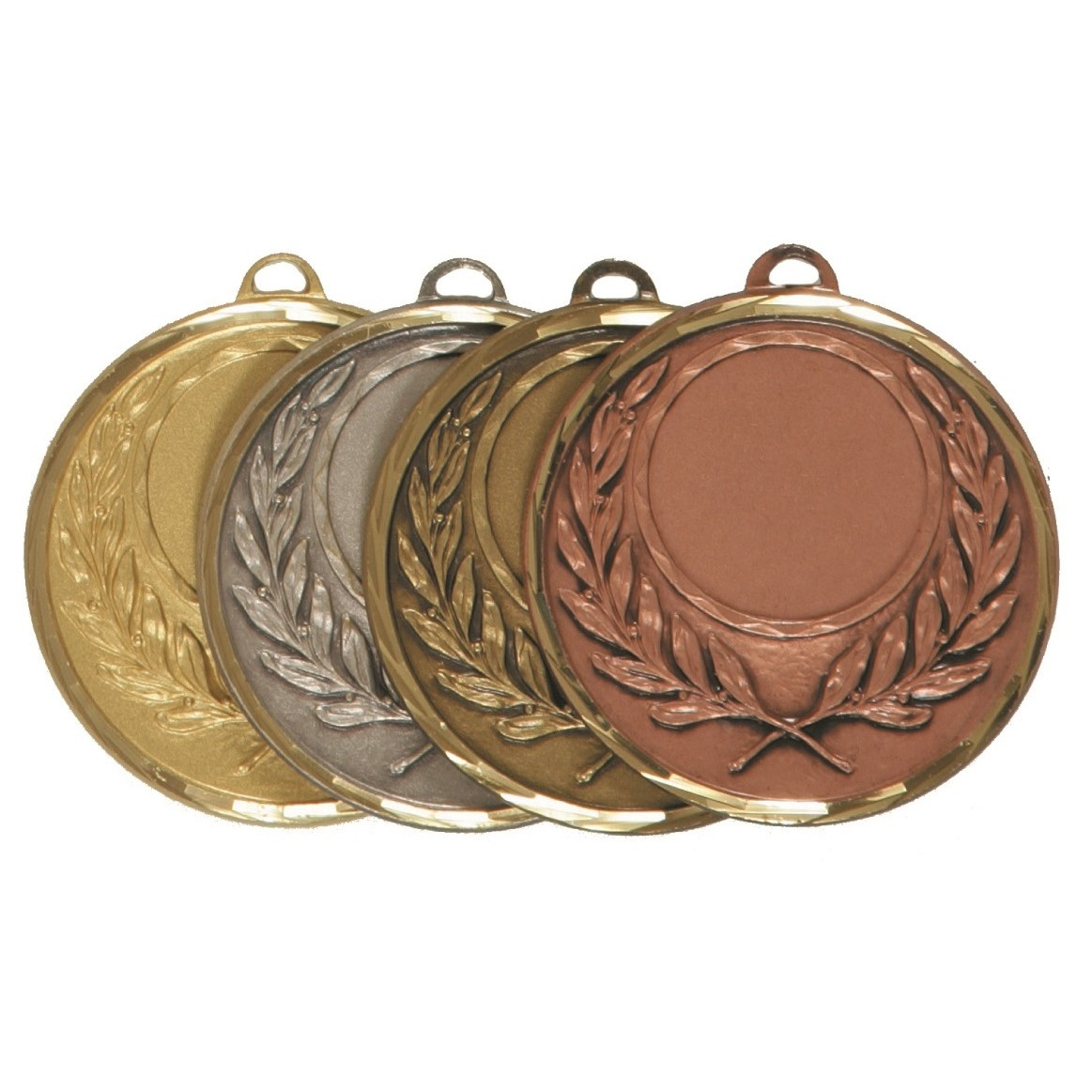 Faceted Wreath Medal - 5605F