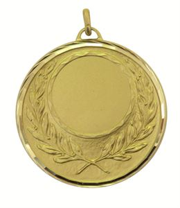 Faceted Wreath Medal