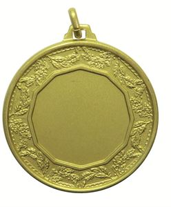 Gold Quality Classic Laurel Medal (size: 42mm) - 5515E