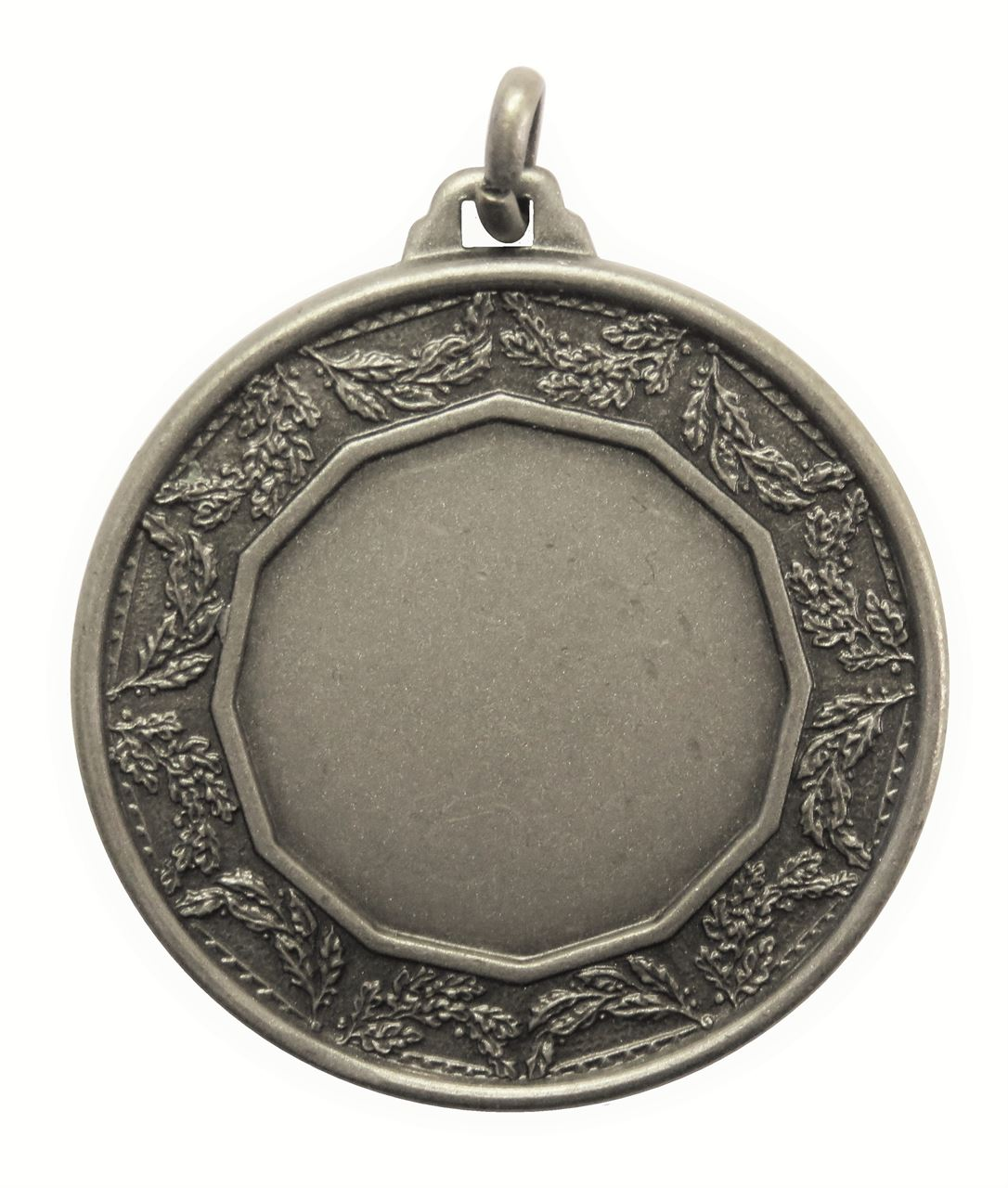 Silver Quality Classic Laurel Medal (size: 42mm) - 5515E