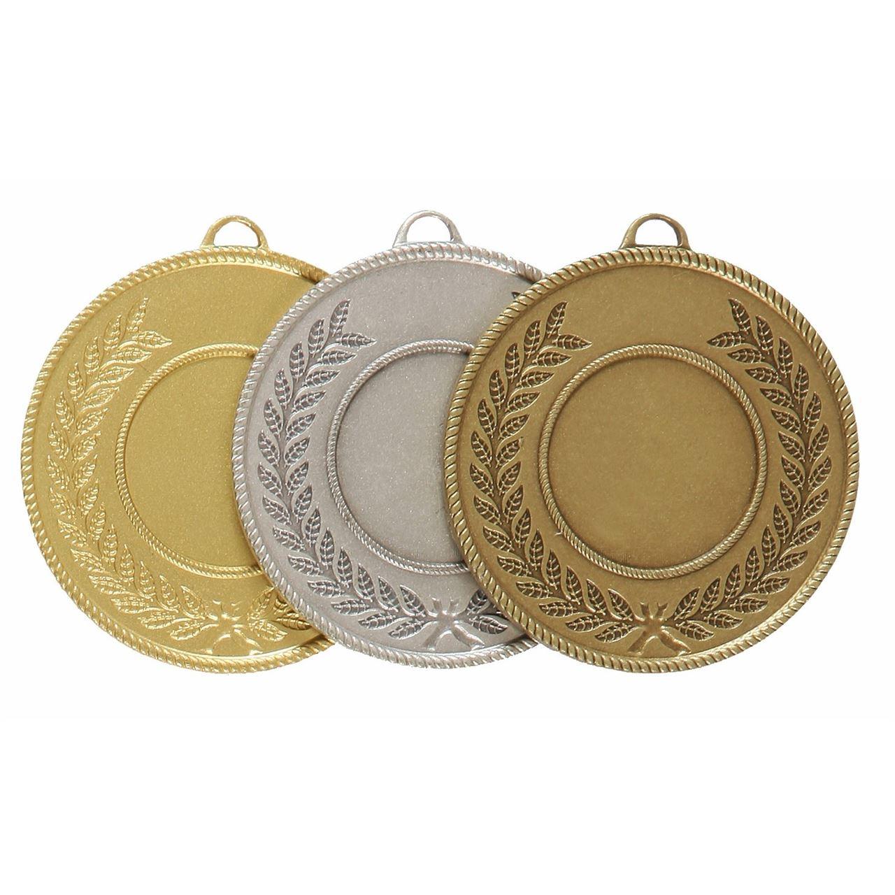 Quality Laurel Surround Medal (size: 50mm) - 5820E