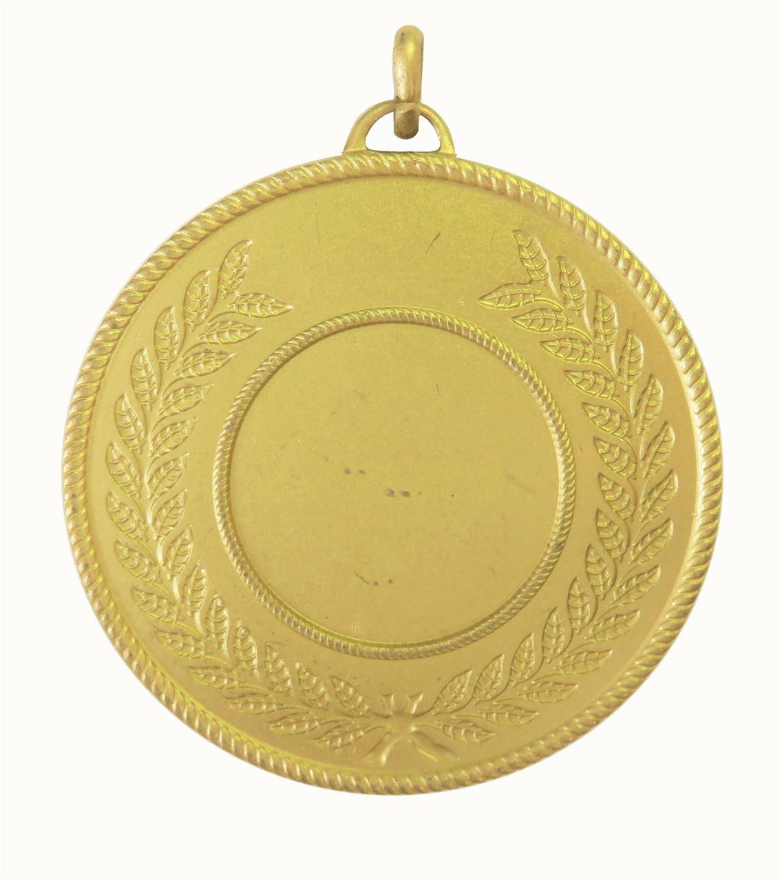 Gold Quality Laurel Surround Medal (size: 50mm) - 5820E