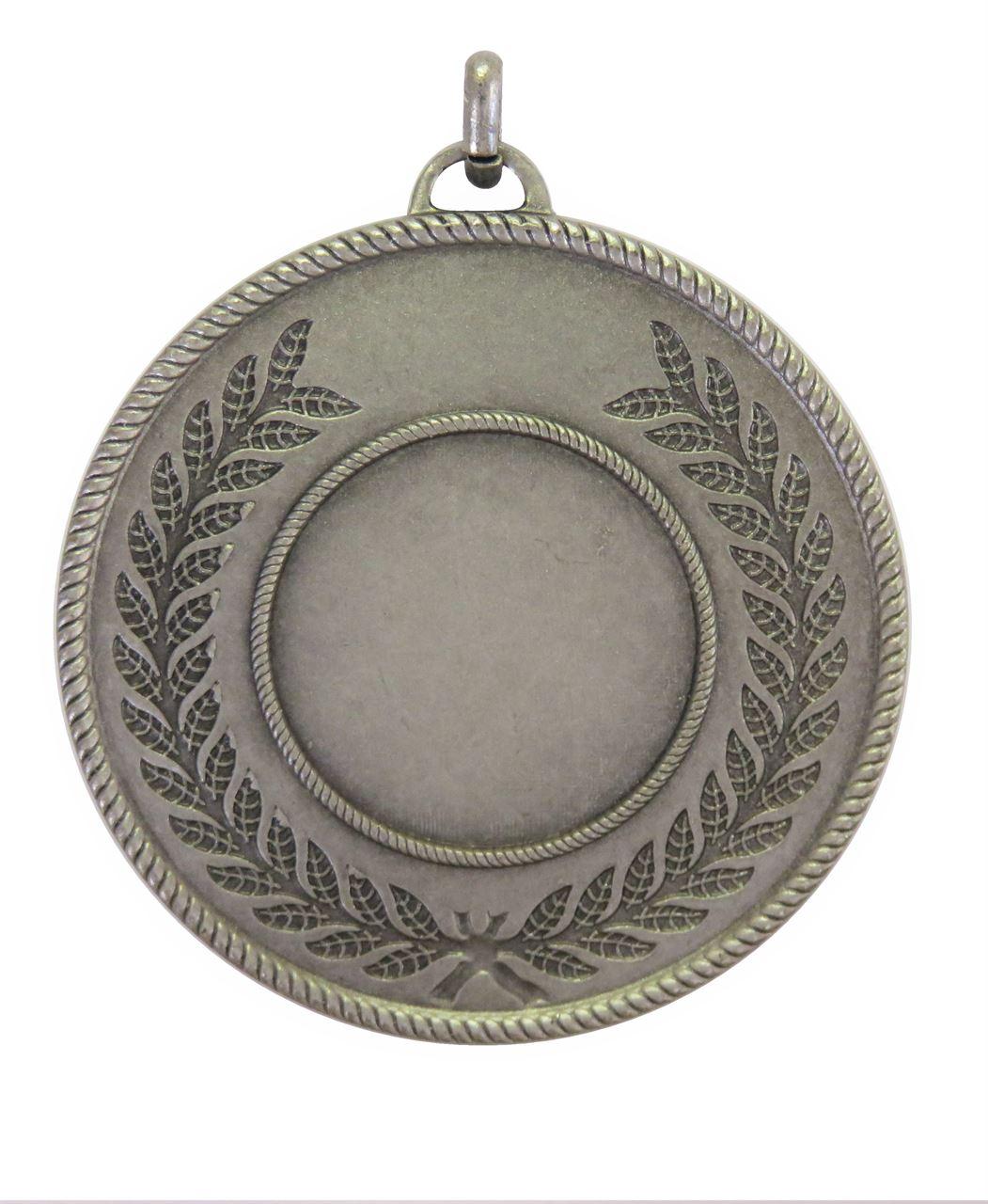 Silver Quality Laurel Surround Medal (size: 50mm) - 5820E