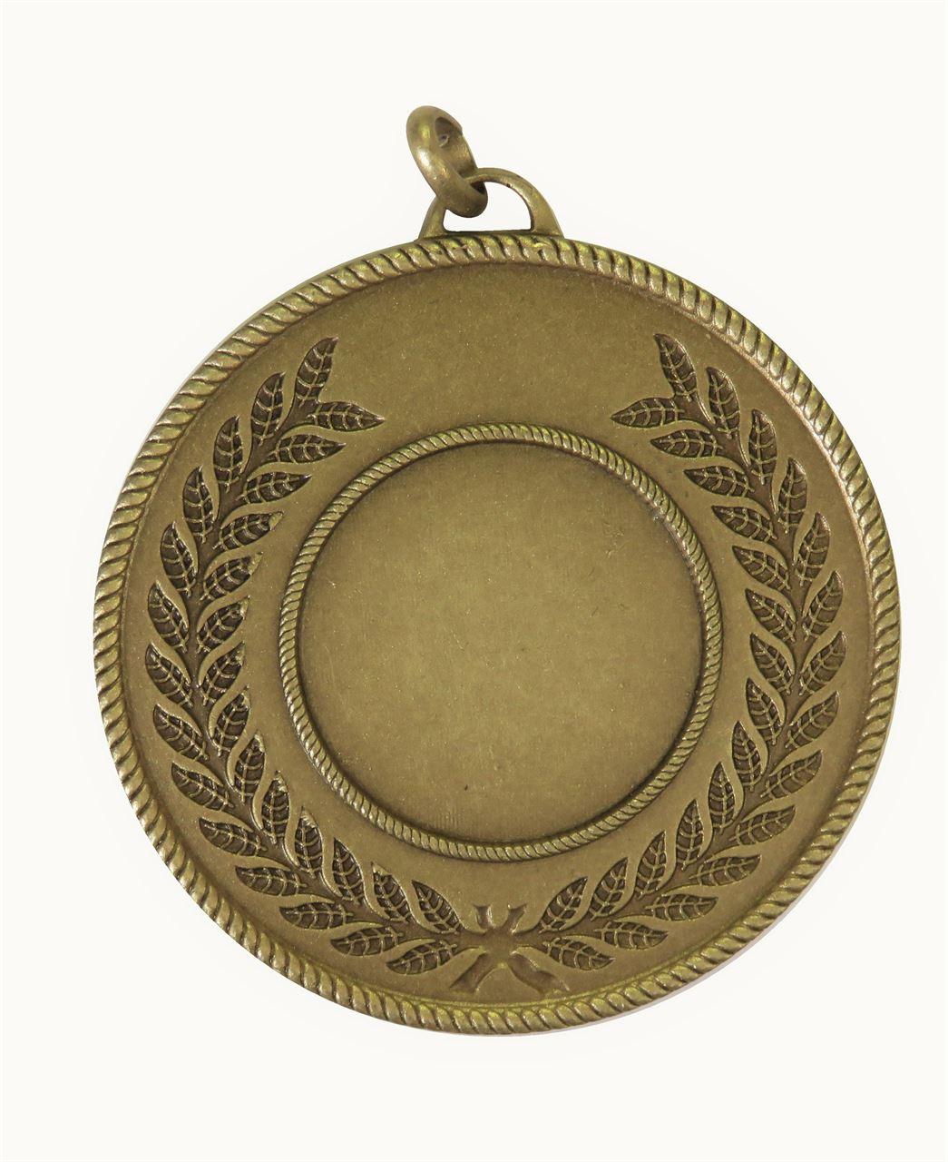 Bronze Quality Laurel Surround Medal (size: 50mm) - 5820E