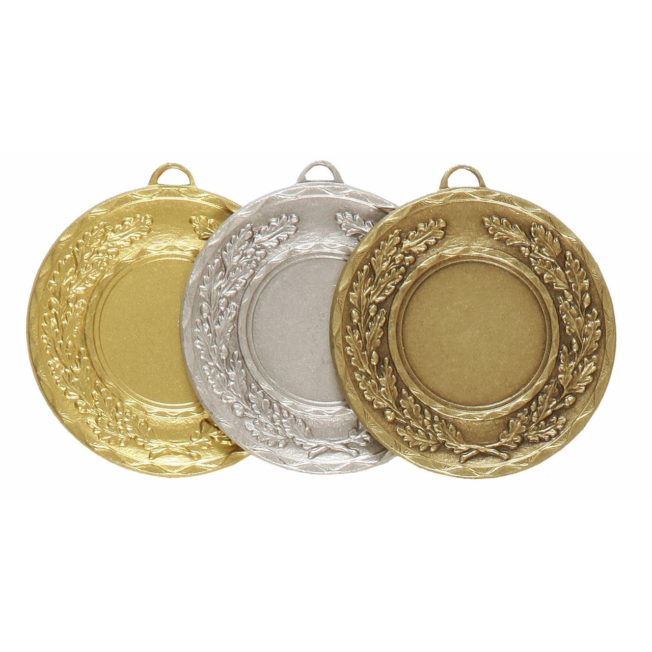 Quality Classic Wreath Medal (size: 50mm) - 5595E