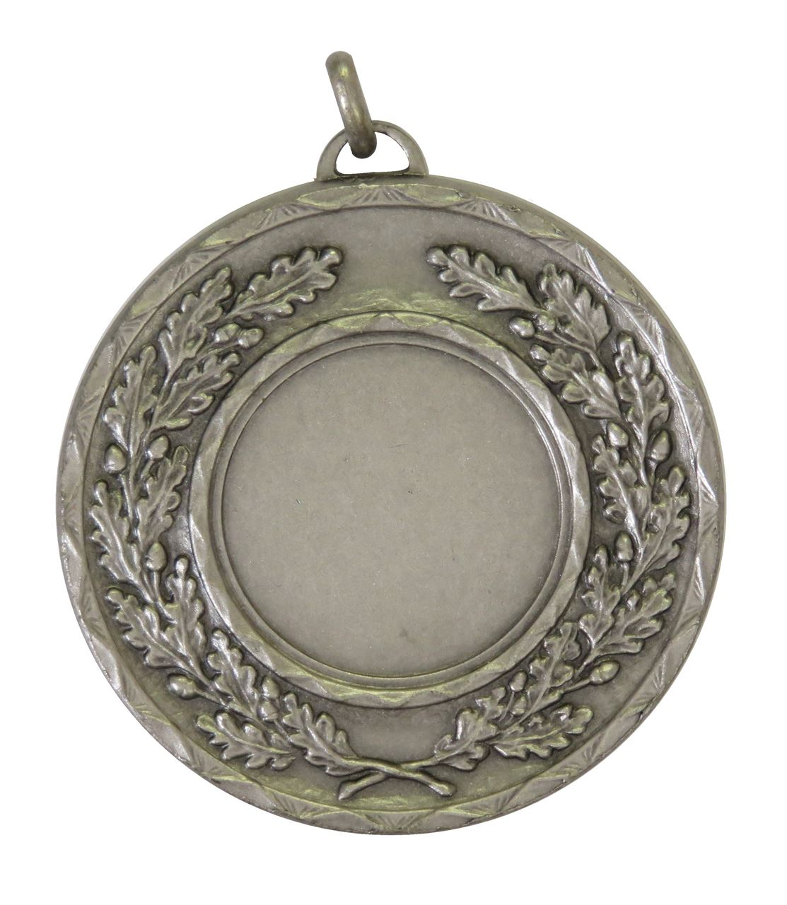Silver Quality Classic Wreath Medal (size: 50mm) - 5595E
