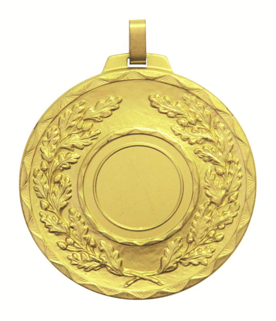 Gold Quality Classic Wreath Medal (size: 70mm) - 5595E