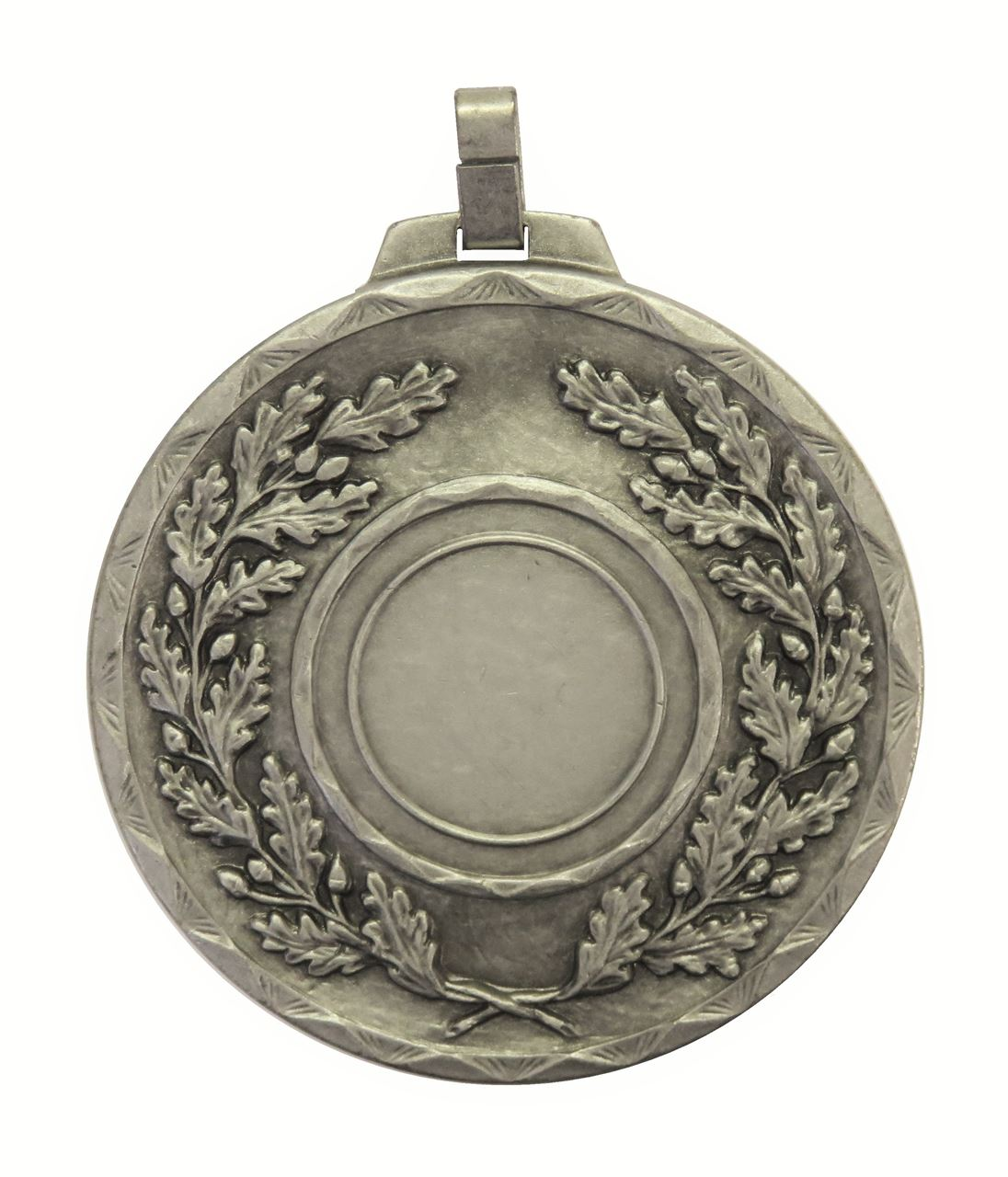 Silver Quality Classic Wreath Medal (size: 70mm) - 5595E