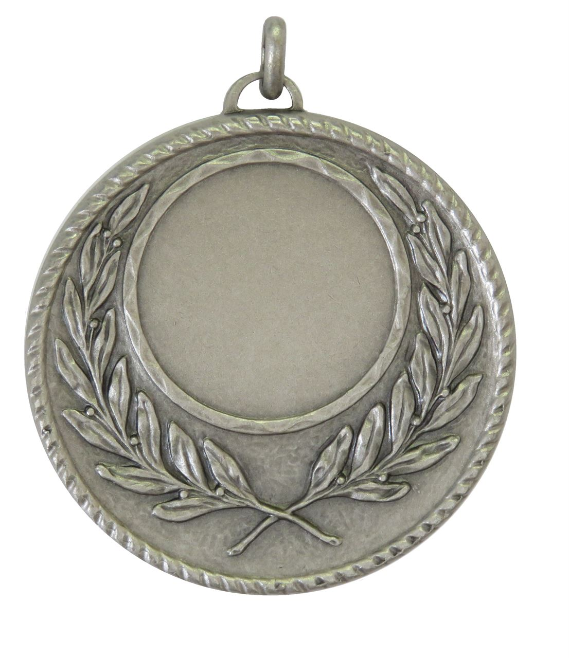 Silver Quality Wreath Medal (size: 50mm) - 5605E