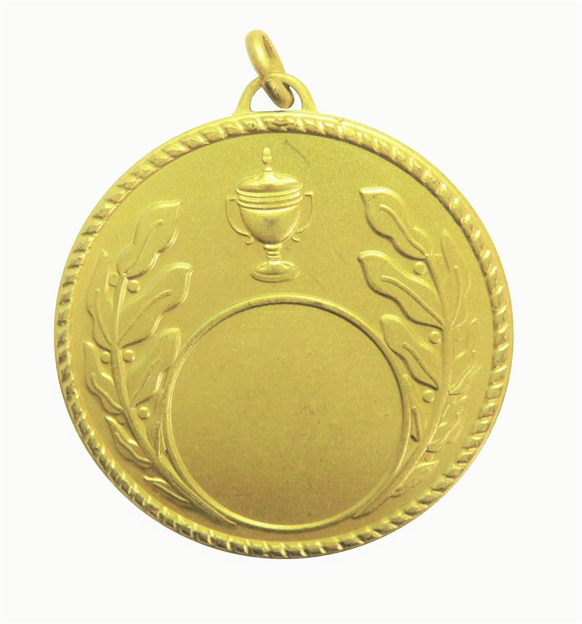 Gold Quality Laurel & Cup Medal (size: 50mm) - 5804E