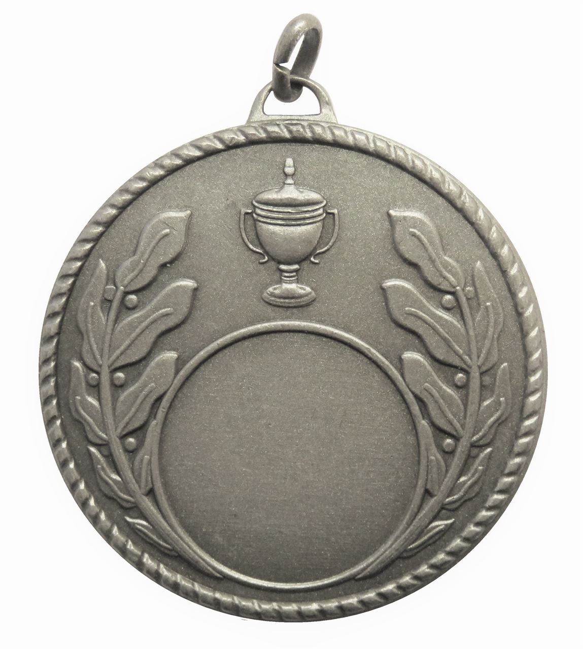 Silver Quality Laurel & Cup Medal (size: 50mm) - 5804E