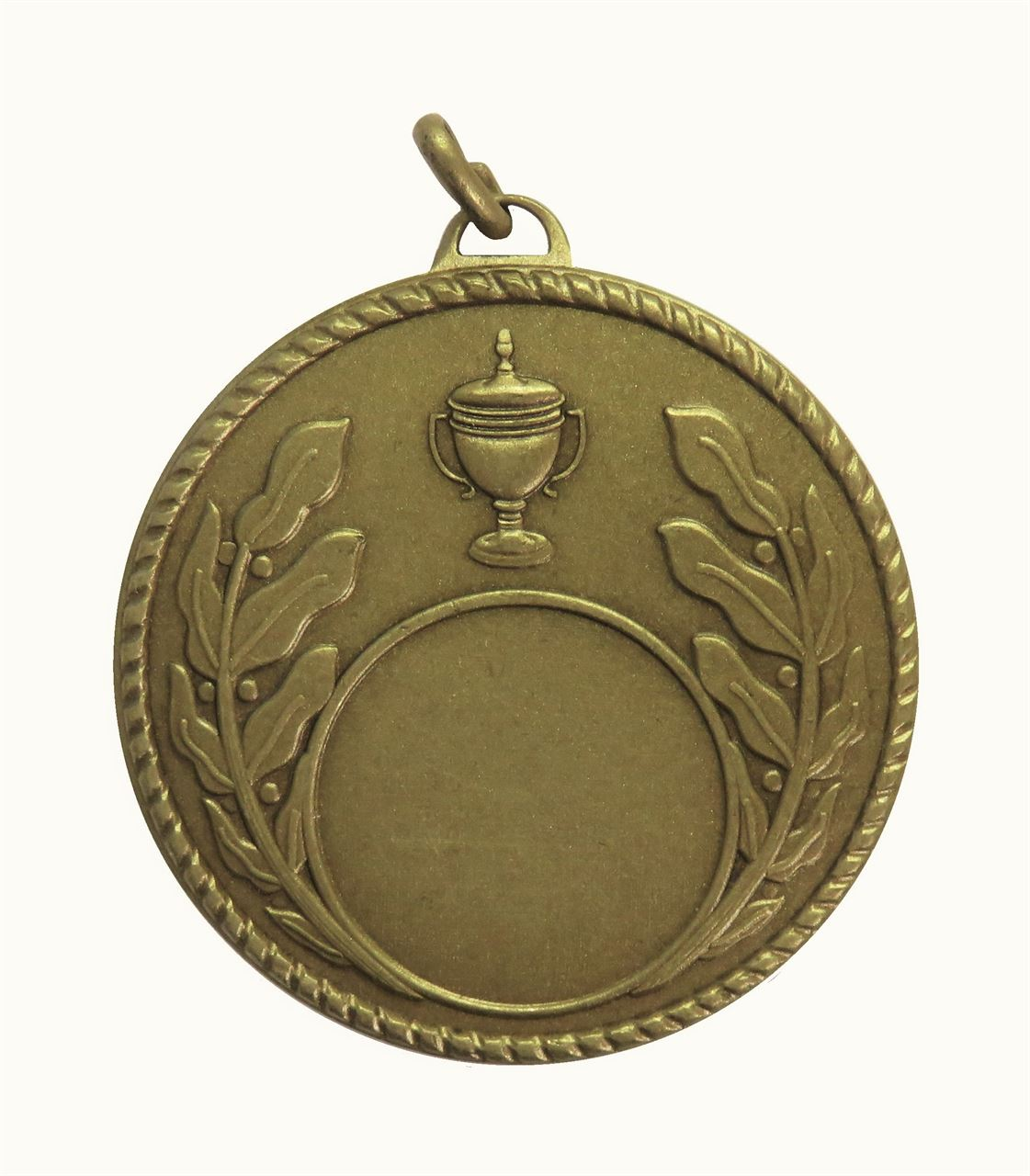 Bronze Quality Laurel & Cup Medal (size: 50mm) - 5804E