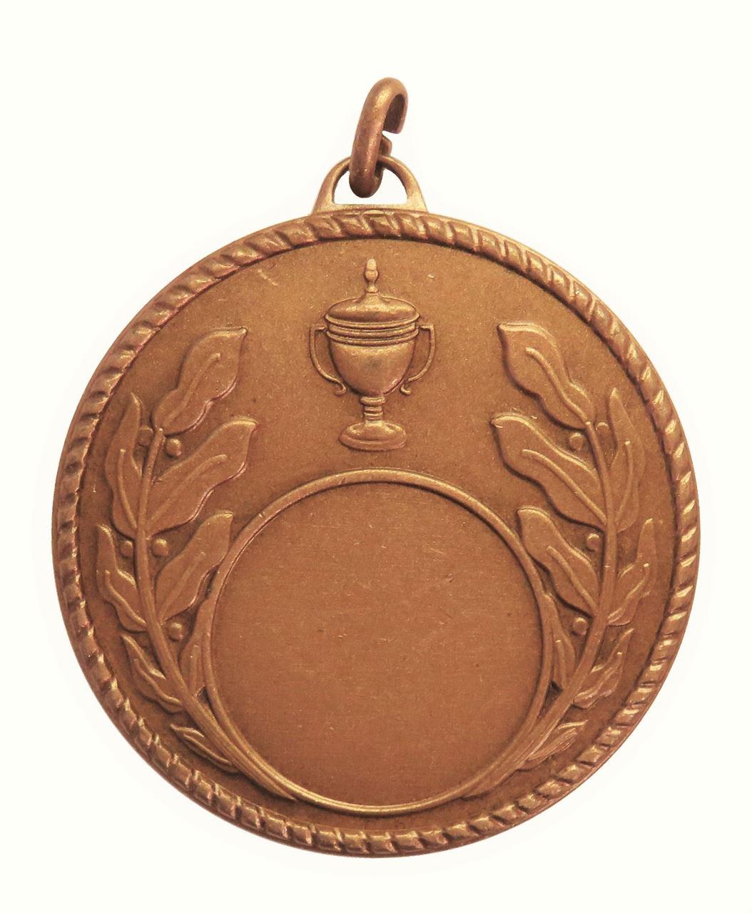 Copper Quality Laurel & Cup Medal (size: 50mm) - 5804E