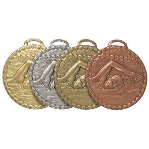 Male Crawl Value Swimming Medal (size: 50mm) - 672E