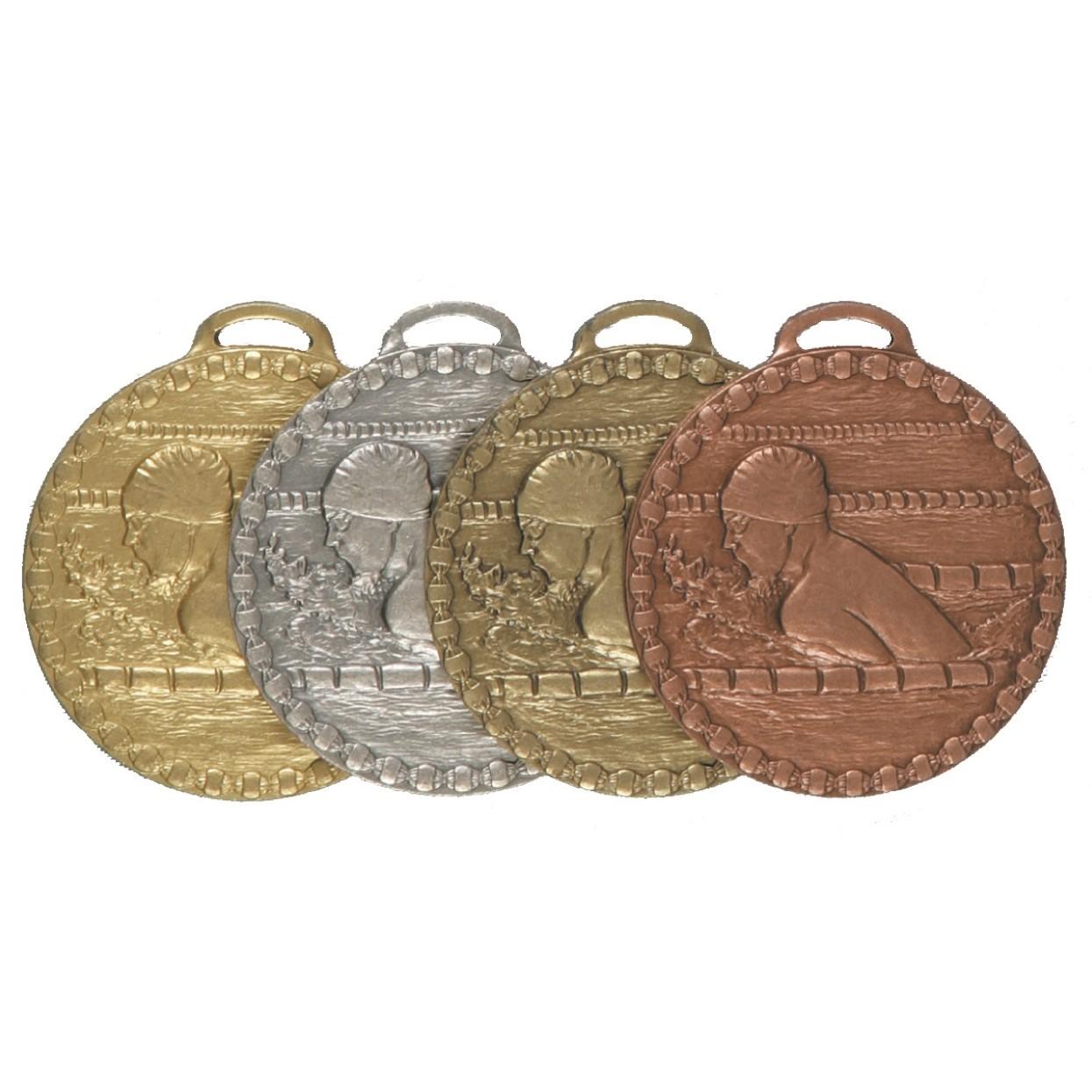 Male Breaststroke Value Swimming Medal (size: 50mm) - 678E