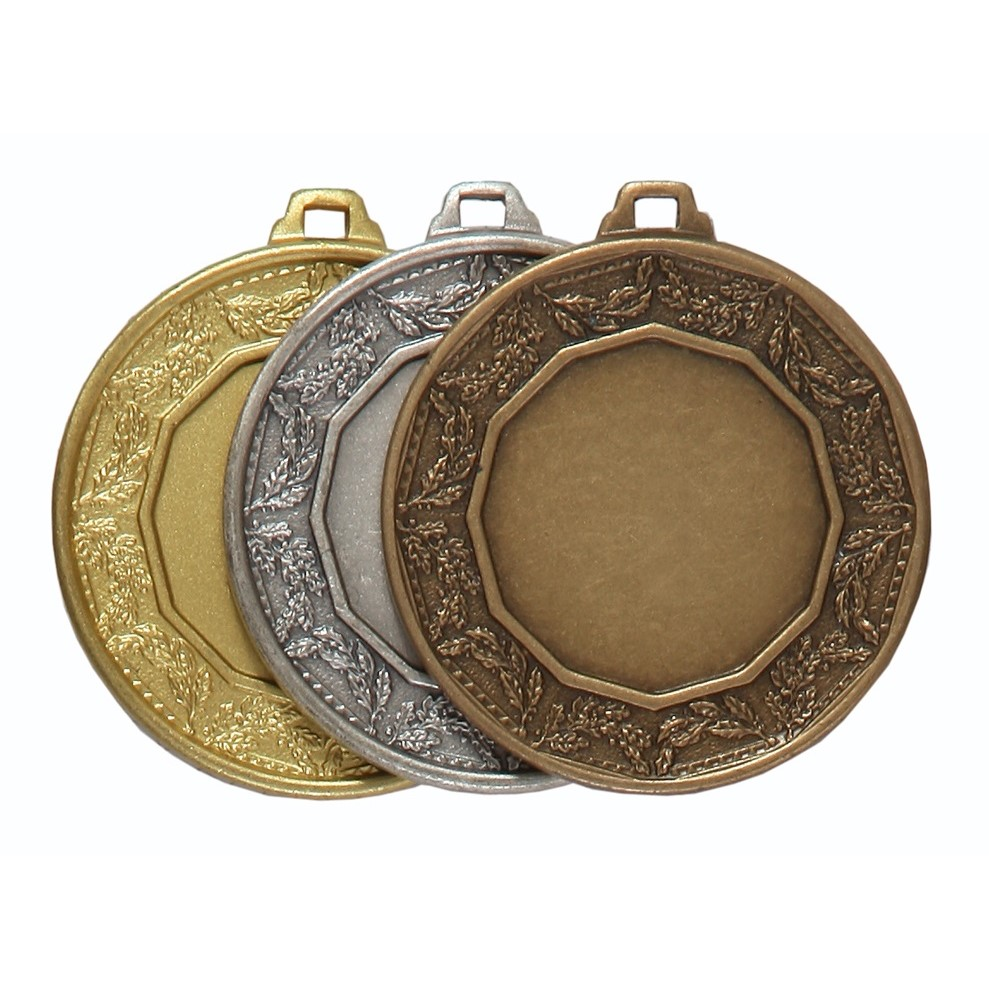 Quality Classic Laurel Medal (size: 42mm) - 5515E
