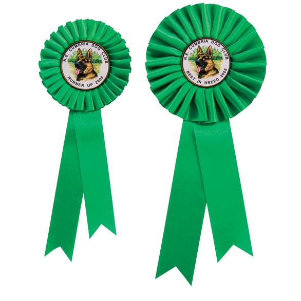 Champion Green Rosette 2 sizes - RO7261