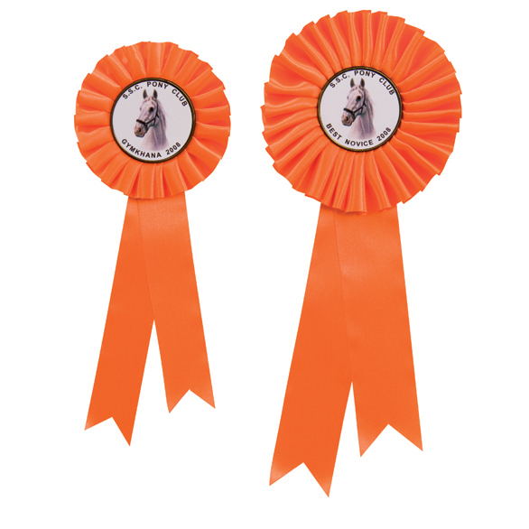 Champion Orange Rosette 2 sizes - RO7263