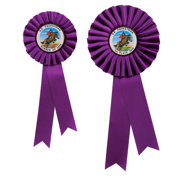 Champion Purple Rosette 2 sizes - RO7262