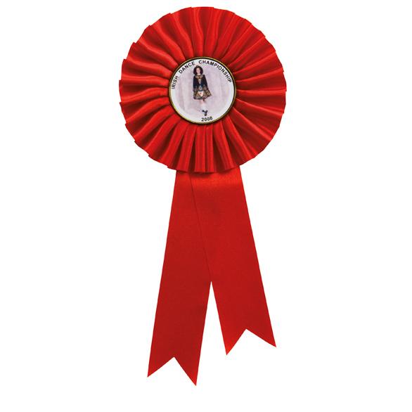 Champion Red Rosette 2 sizes - RO7258