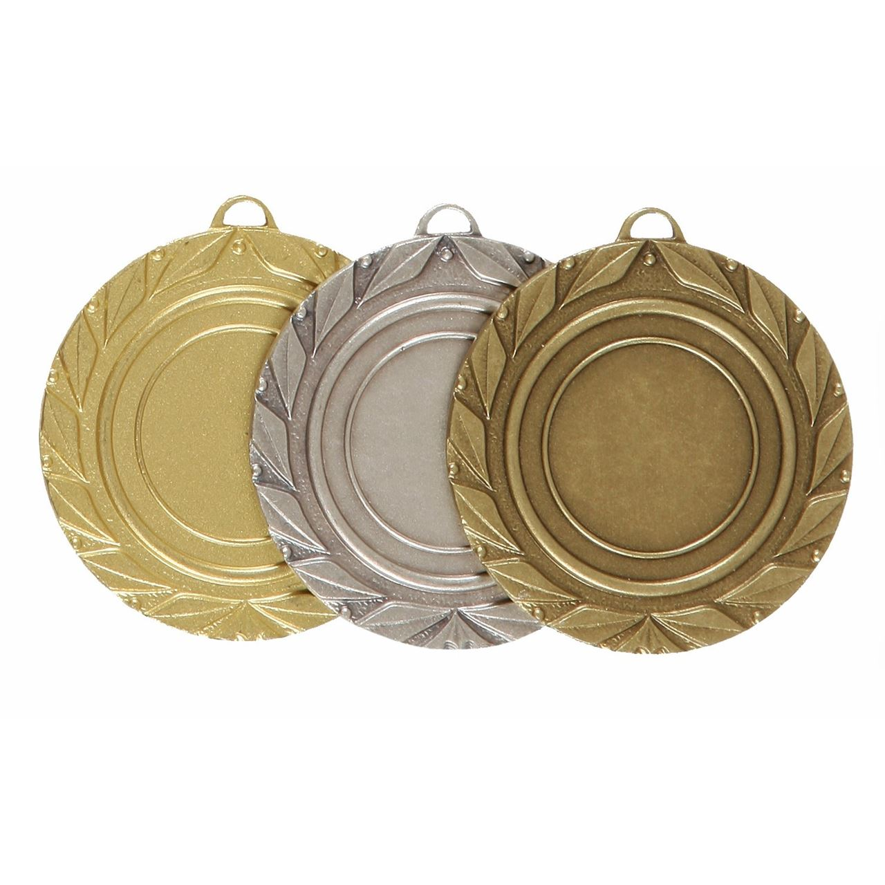 Quality Laurel Leaf Medal (size: 50mm) - 5705E