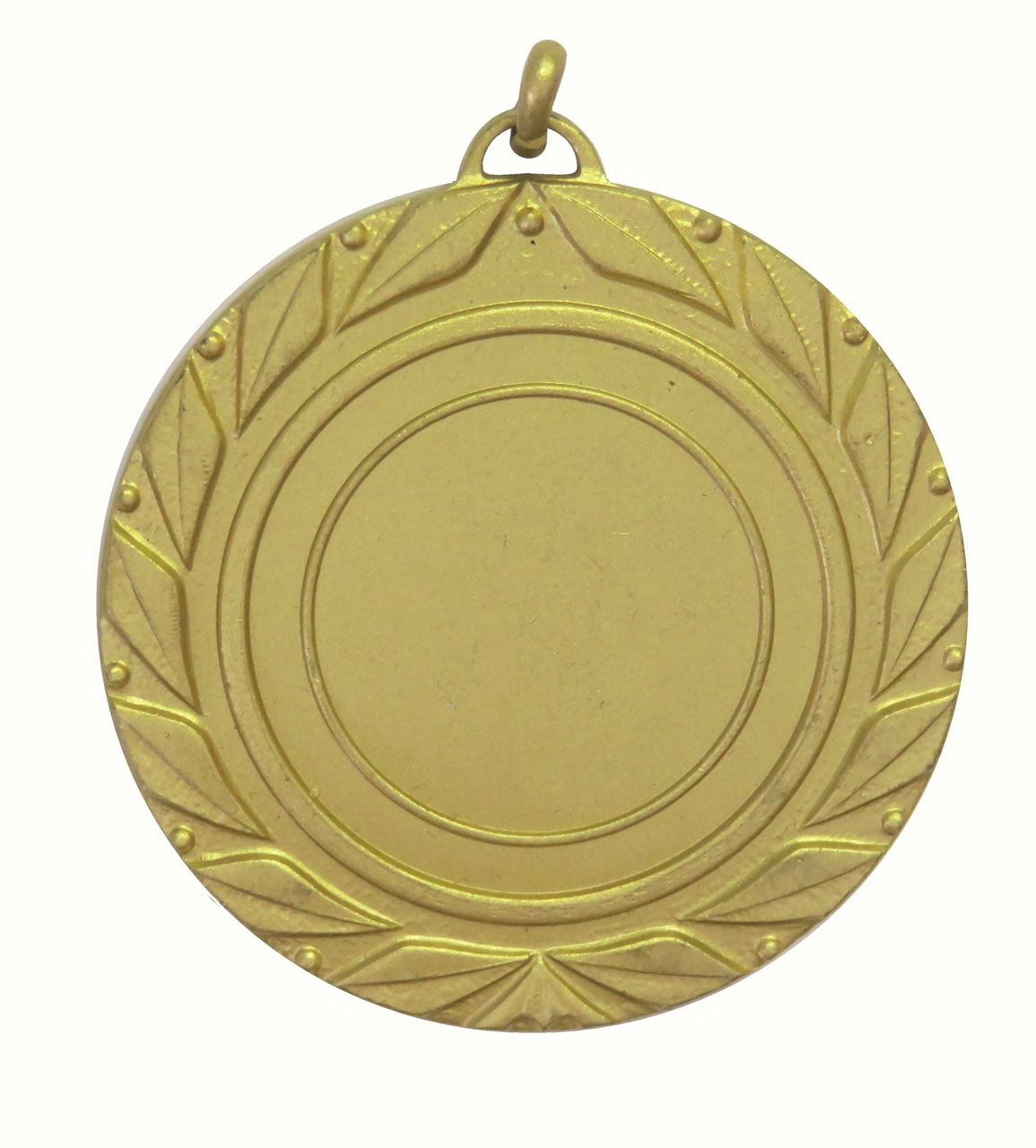 Gold Quality Laurel Leaf Medal (size: 50mm) - 5705E