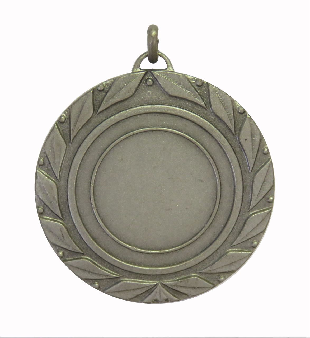 Silver Quality Laurel Leaf Medal (size: 50mm) - 5705E